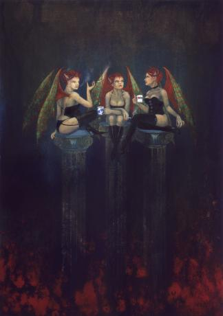 Coffee Break - She-devils by Nancy Farmer