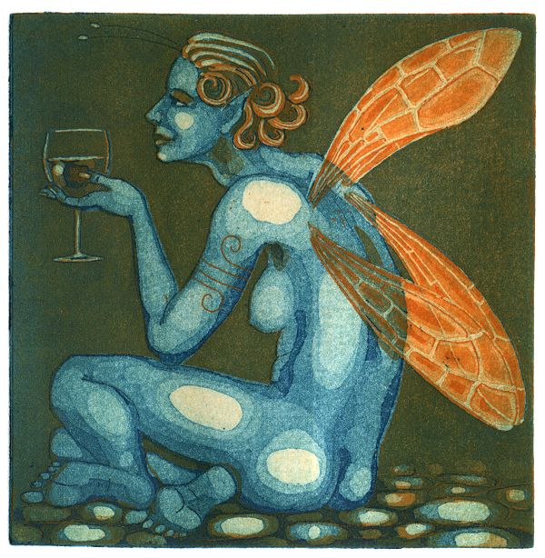 Fairy Wine - another print off the same plates