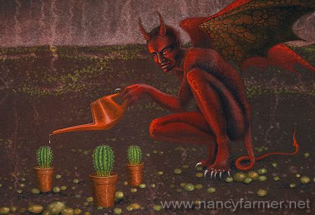Demon Pictures: 'Watering the Pot Plants'