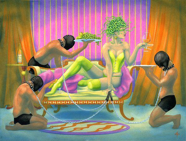 Nancy Farmer Medusa's GIMP's 600 x 455