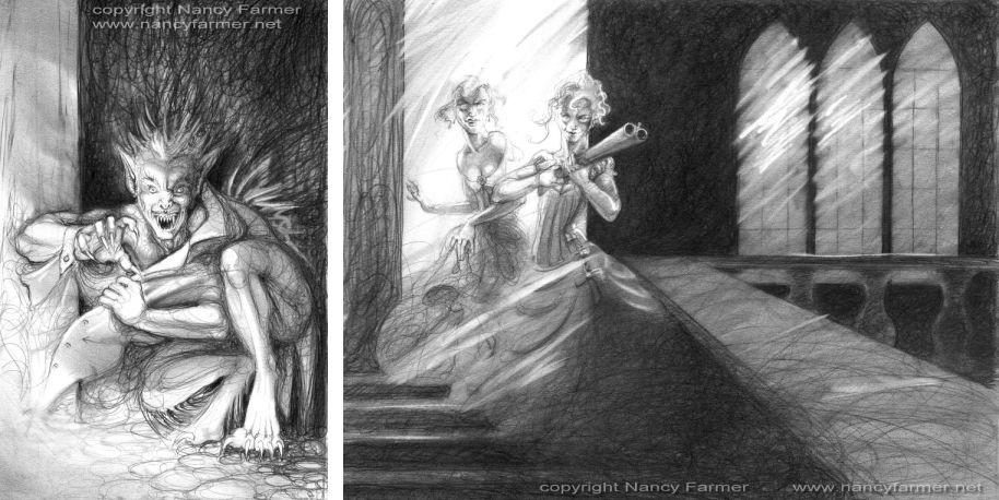 Murky Depths Illustration: 'Is this my Last Testament'