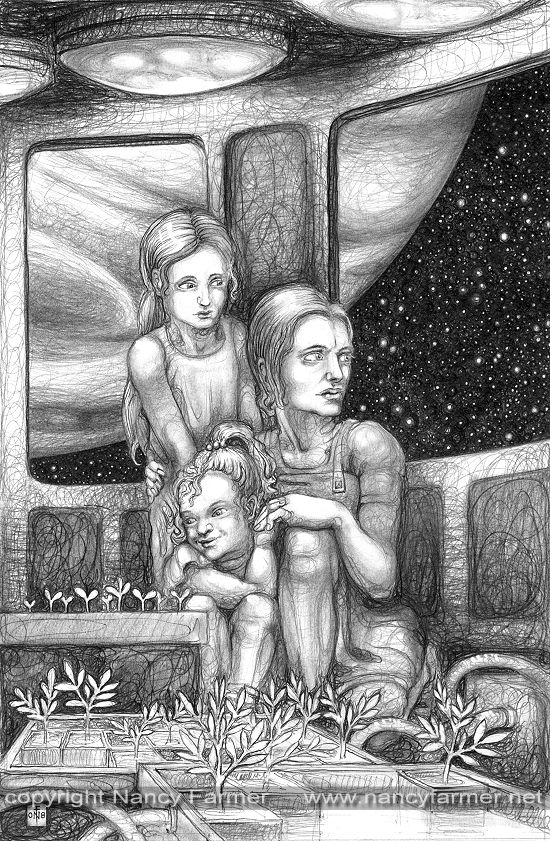 Illustration for Murky Depths: 'Growing Roses on Europa'