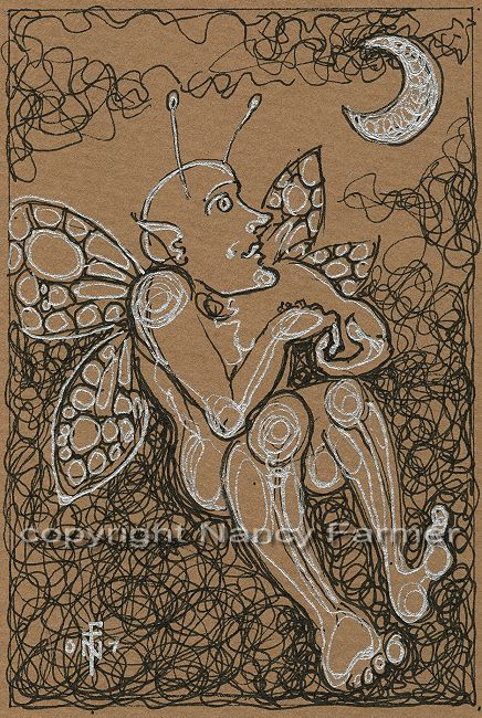 Permanent Sketch Book: Permanent Sketch 6: Fairy In The Moonlight