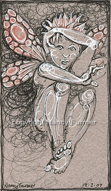 Permanent Sketch Book: Permanent Sketch 11: Playful Fairy
