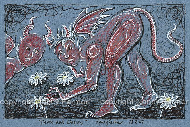 Permanent Sketch Book: Permanent Sketch 14: Devils And Dasies