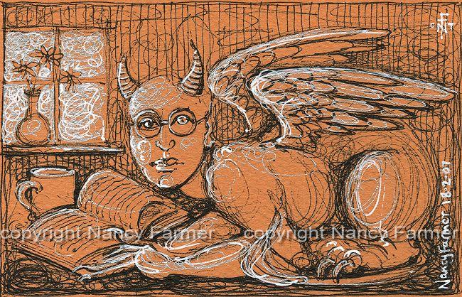 Permanent Sketch Book: Permanent Sketch 18: Studious Sphinx