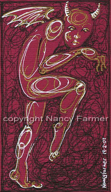 Permanent Sketch Book: Permanent Sketch 23: Tiptoeing Demon