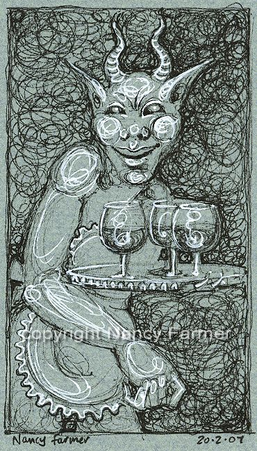 Permanent Sketch Book: Permanent Sketch 27: Monster Wine Waiter
