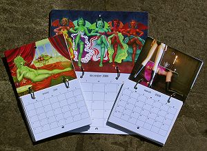 calendars by Nancy Farmer